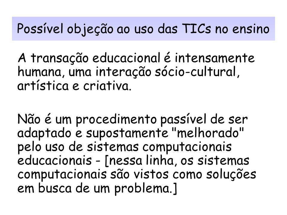 As Tecnologias da Informação e Comunicação (TICs) como ferramenta pedagógica no processo de ensino-aprendizagem em Ciência da Informação Profª Drª Ari