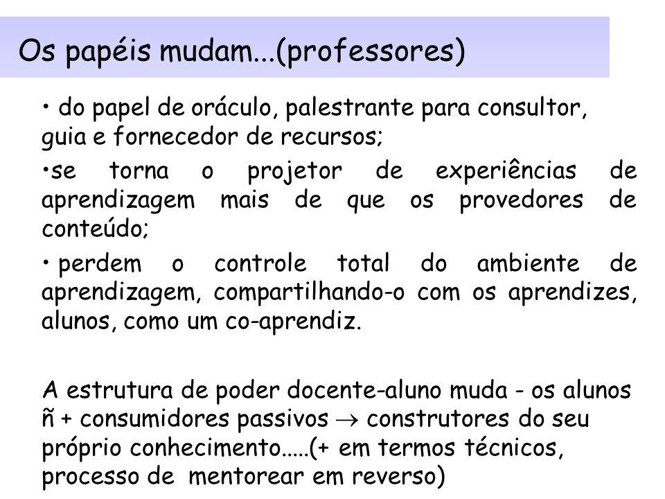 Princípios do design de aprendizagem em rede -2 equilíbrio entre controle da situação de aprendizagem e a promoção da autonomia pessoal; apoio da auto