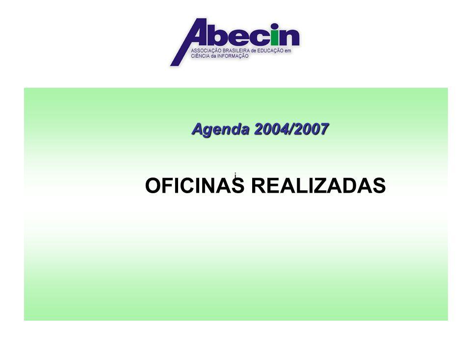 Agenda 2004/2007 OFICINAS REALIZADAS i
