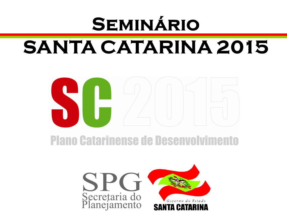 Seminário SANTA CATARINA 2015