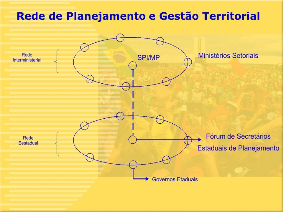 12 Rede de Planejamento e Gestão Territorial