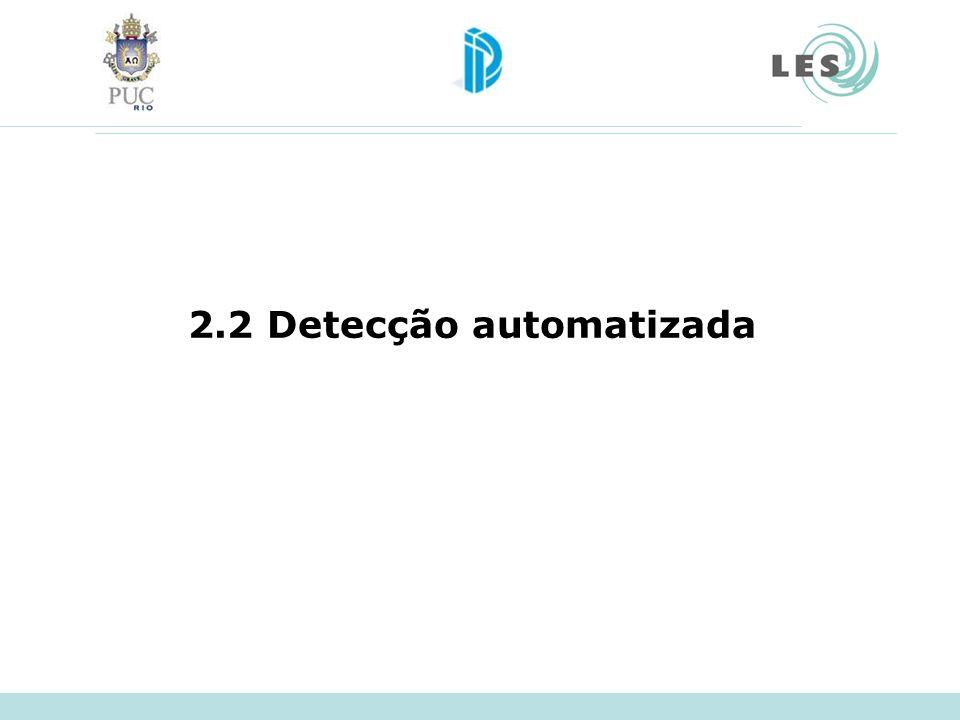 2.2 Detecção automatizada