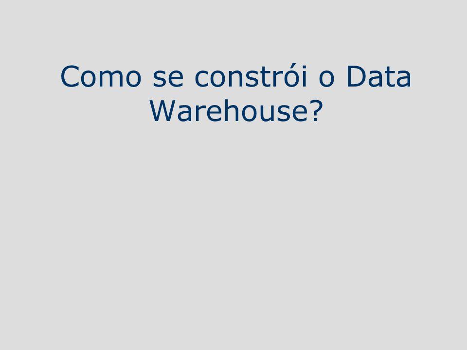 Como se constrói o Data Warehouse?
