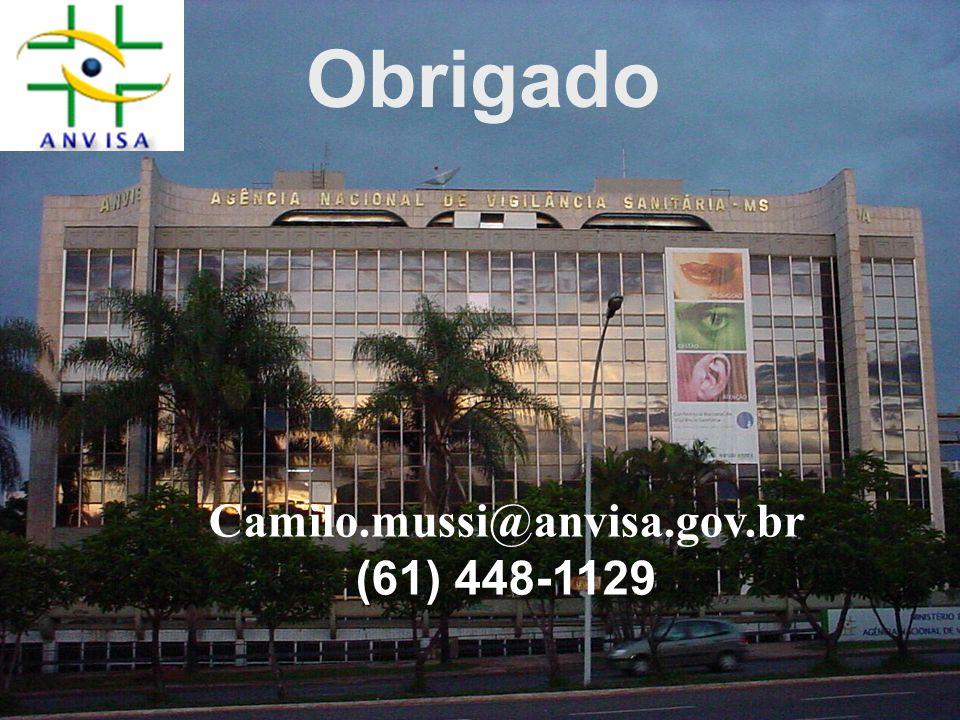 Obrigado Camilo.mussi@anvisa.gov.br (61) 448-1129