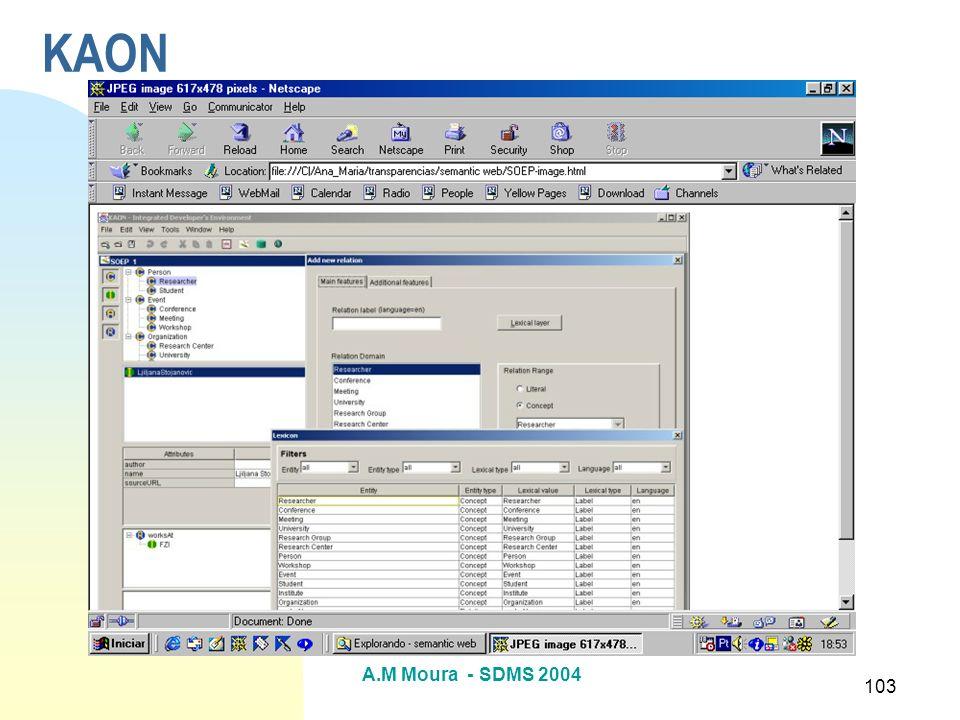 A.M Moura - SDMS 2004 103 KAON