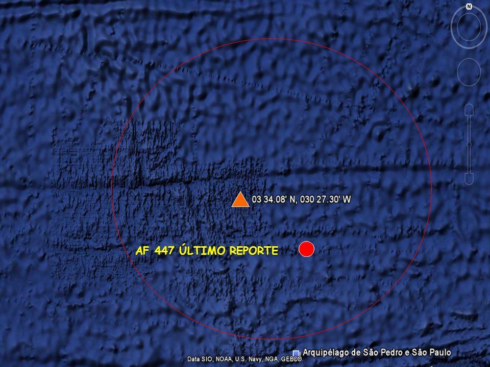 Planejado 6 JUN 2009 AF 447 ÚLTIMO REPORTE