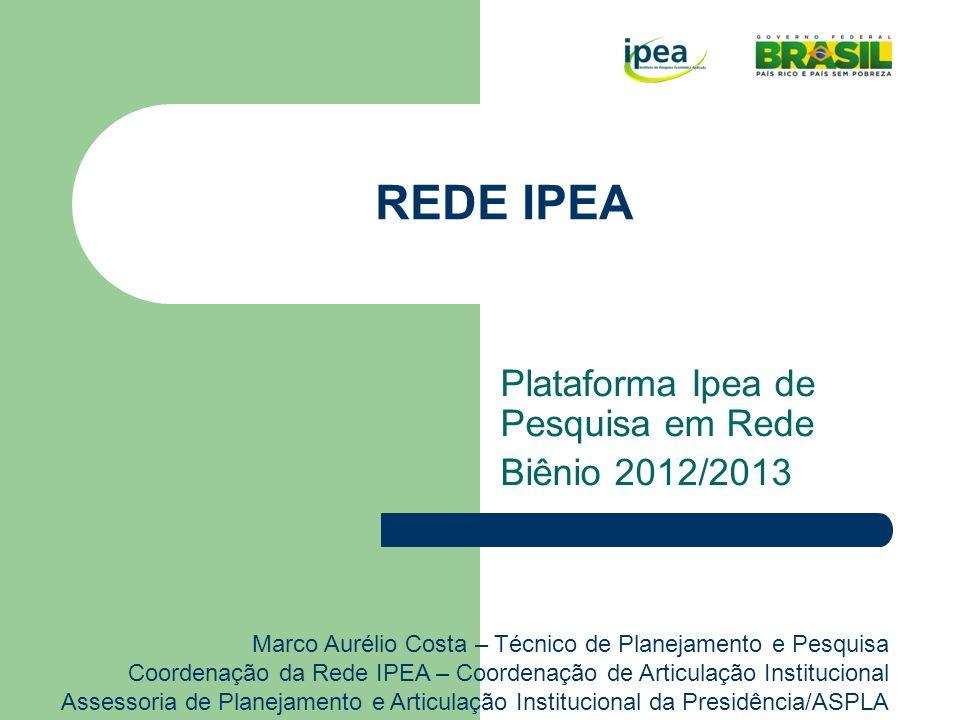 O que é a Rede IPEA.