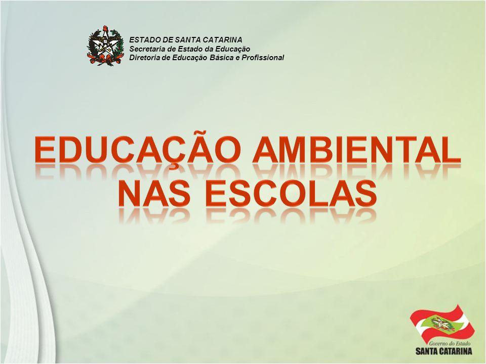 ESTADO DE SANTA CATARINA Secretaria de Estado da Educação Diretoria de Educação Básica e Profissional