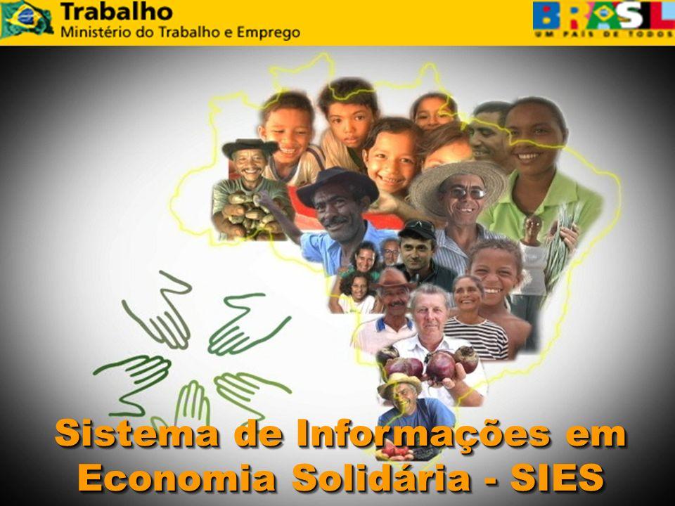 Sistema de Informações em Economia Solidária - SIES