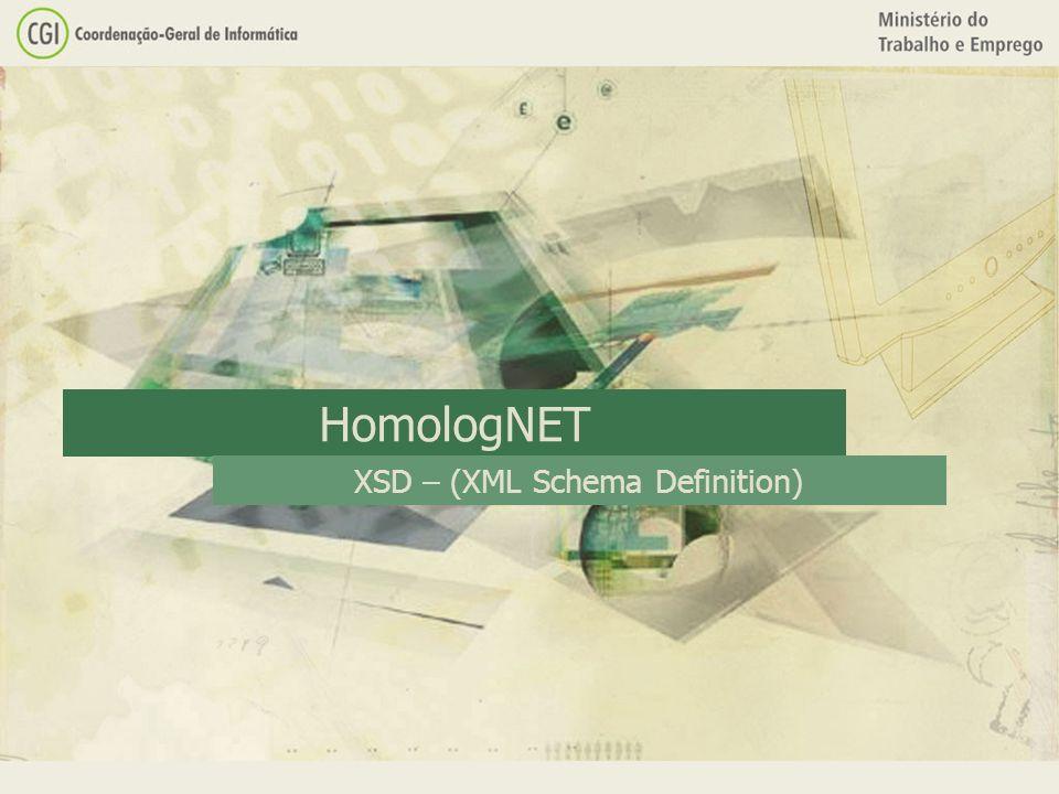 HomologNET XSD – (XML Schema Definition)