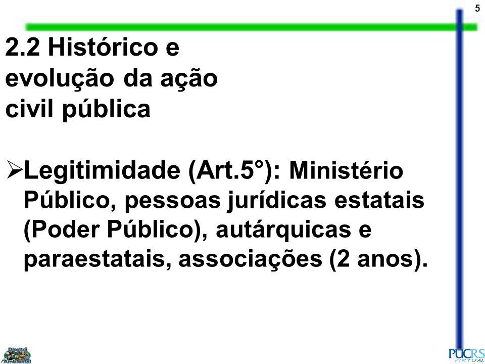 6 Procedimento: a) qualquer pessoa poderá e o servidor público deverá provocar a iniciativa do Ministério Público, ministrando-lhe informações sobre fatos que constituam objeto de ação civil.