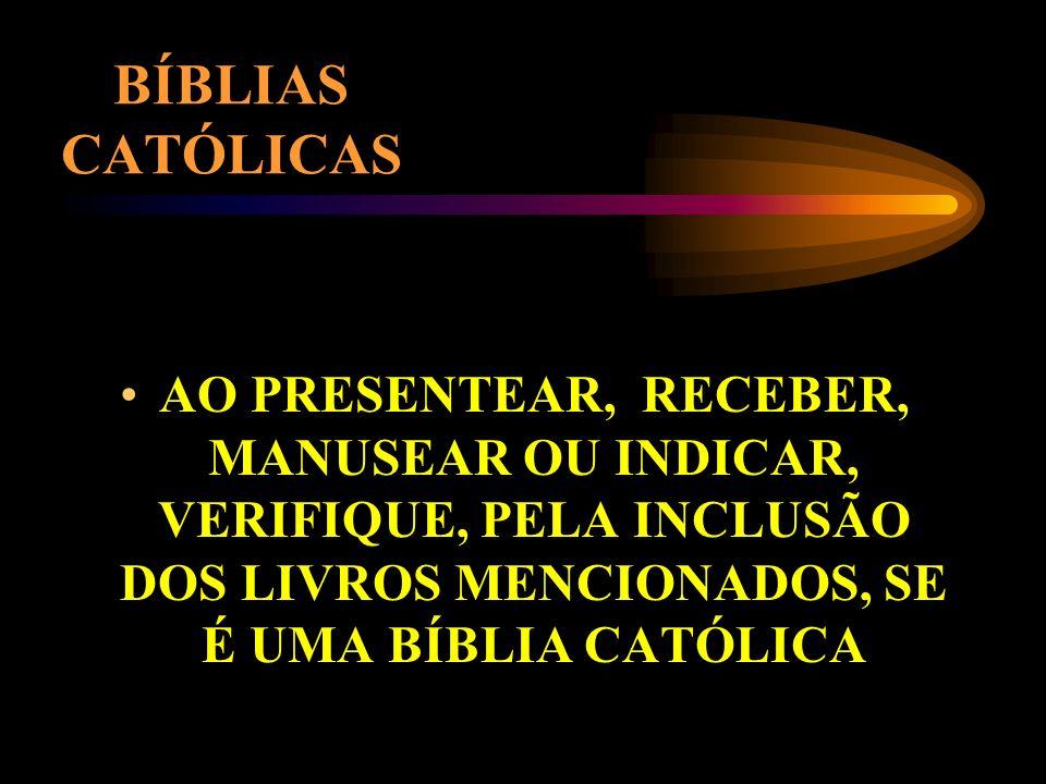 LIVROS (TRECHOS) DEUTEROCANÔNICOS JUDITE TOBIAS 1-2 MACABEUS SABEDORIA ECLESIÁSTICO BARUC TRECHOS DE ESTER CAP. 13 E 14 DE DANIEL