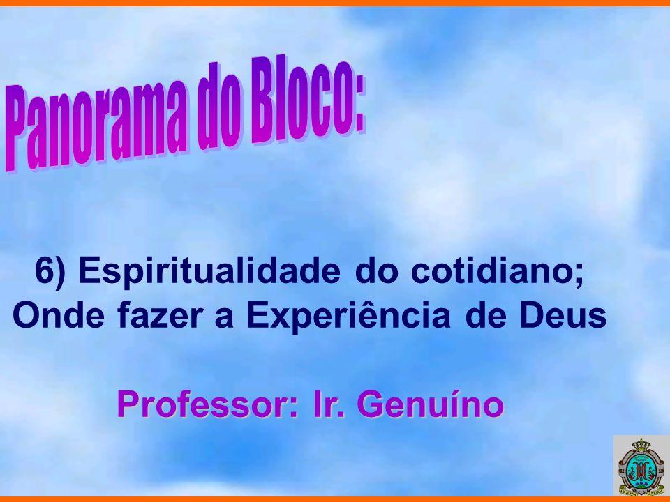 7) Leituras de Fé; Pistas e Estratégias para viver a Espiritualidade Apostólica Marista Professor: Irs.