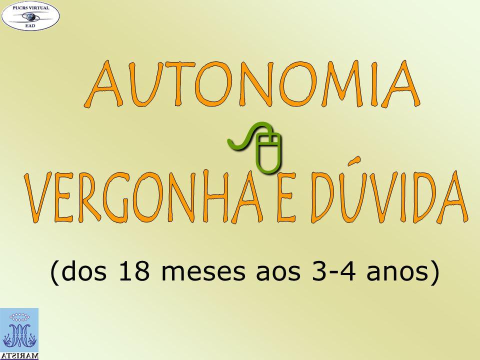 DESCONFIANÇA VERGONHA E DÚVIDA CULPA INFERIORIDADE
