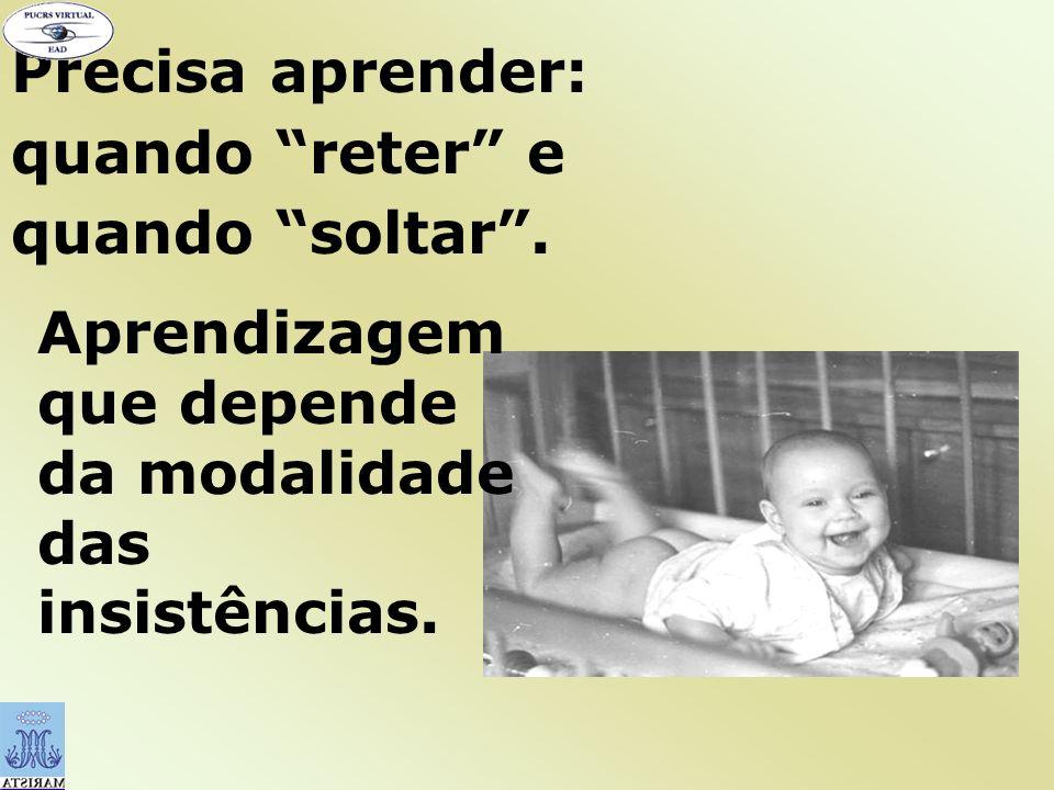 A criança manifesta a firme determinação de fazer livremente as próprias escolhas e controlar o próprio desenvolvimento.