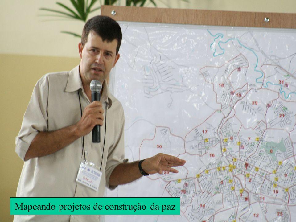 Mapeando projetos de construção da paz
