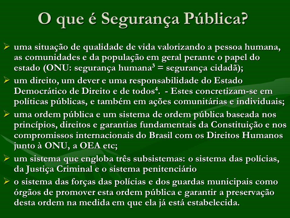 Reforma do sistema prisional e penal.