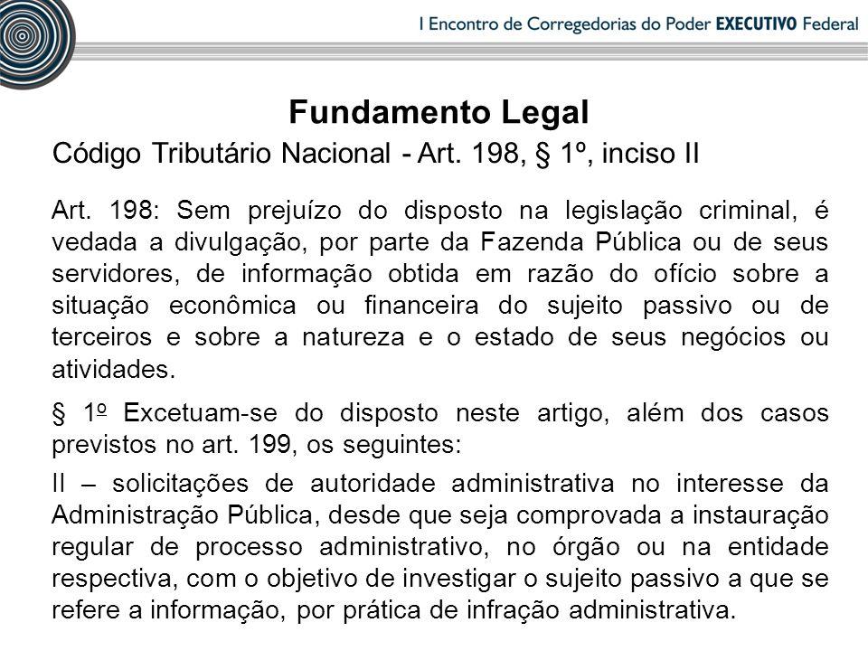 INSTAURAÇÃO Exame das declarações dos agentes públicos (Art.