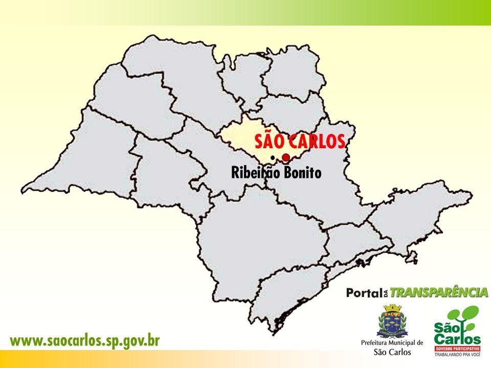 SÃO CARLOS Ribeirão Bonito www.saocarlos.sp.gov.br