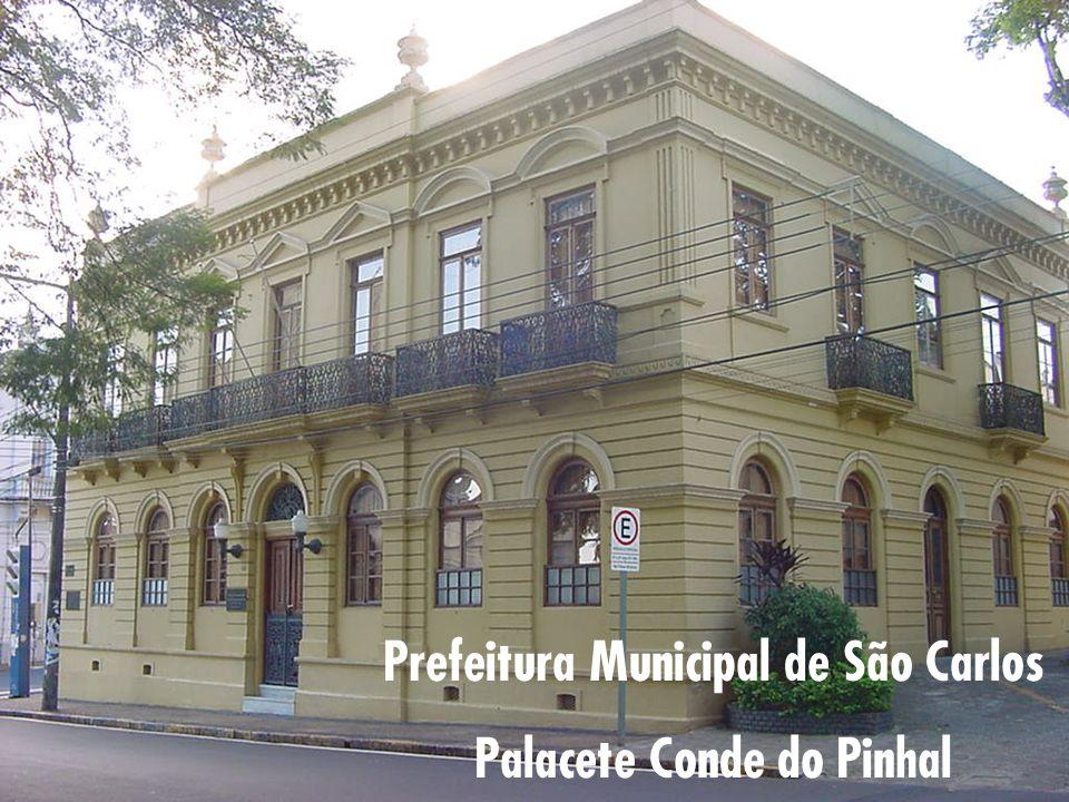 Prefeitura Municipal de São Carlos Palacete Conde do Pinhal