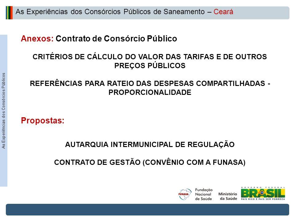 Projeto de Integração do Rio São Francisco CRITÉRIOS DE CÁLCULO DO VALOR DAS TARIFAS E DE OUTROS PREÇOS PÚBLICOS REFERÊNCIAS PARA RATEIO DAS DESPESAS