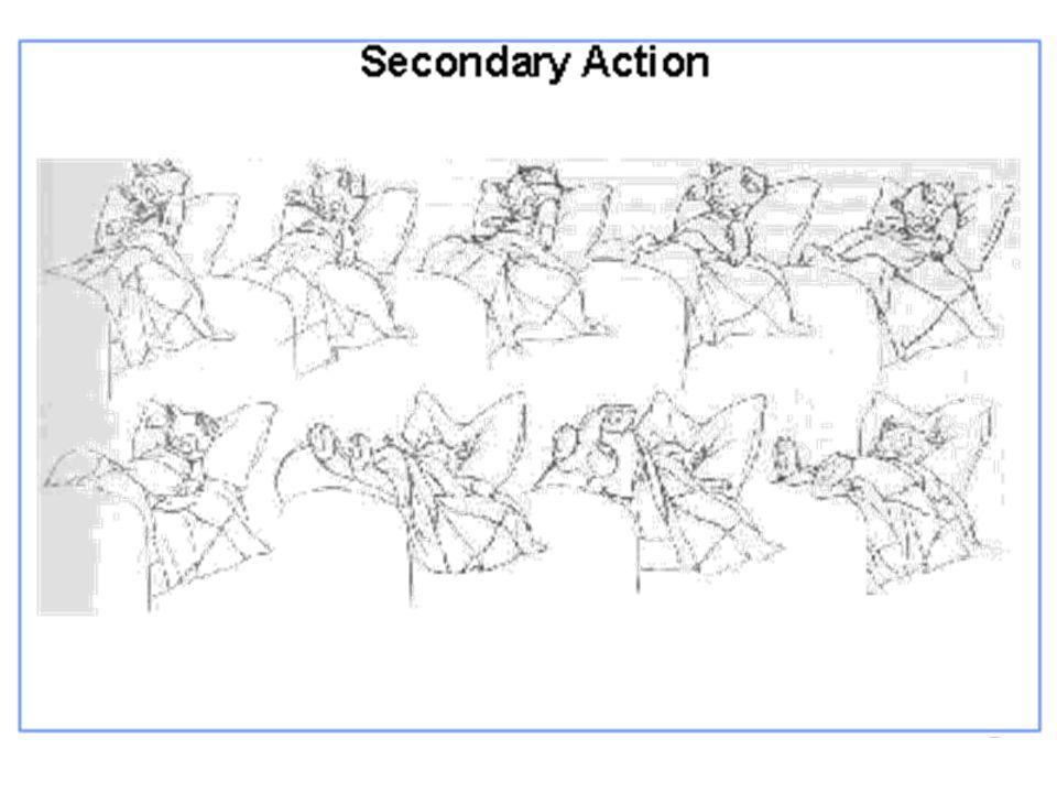 Movimento em camadas Quando se tem varias camadas de animação Quando se tem varias camadas de animação Objeto mover na frente do background Objeto mover na frente do background Uma camada p/ background, outra p/ objeto Uma camada p/ background, outra p/ objeto Múltiplos animadores ao mesmo tempo Múltiplos animadores ao mesmo tempo Acetato transparente em várias camadas Acetato transparente em várias camadas Desenha cada um separadamente Desenha cada um separadamente Empilha todos juntos (em certa ordem) Empilha todos juntos (em certa ordem) Transfere para a película (fotografa a pilha) Transfere para a película (fotografa a pilha)