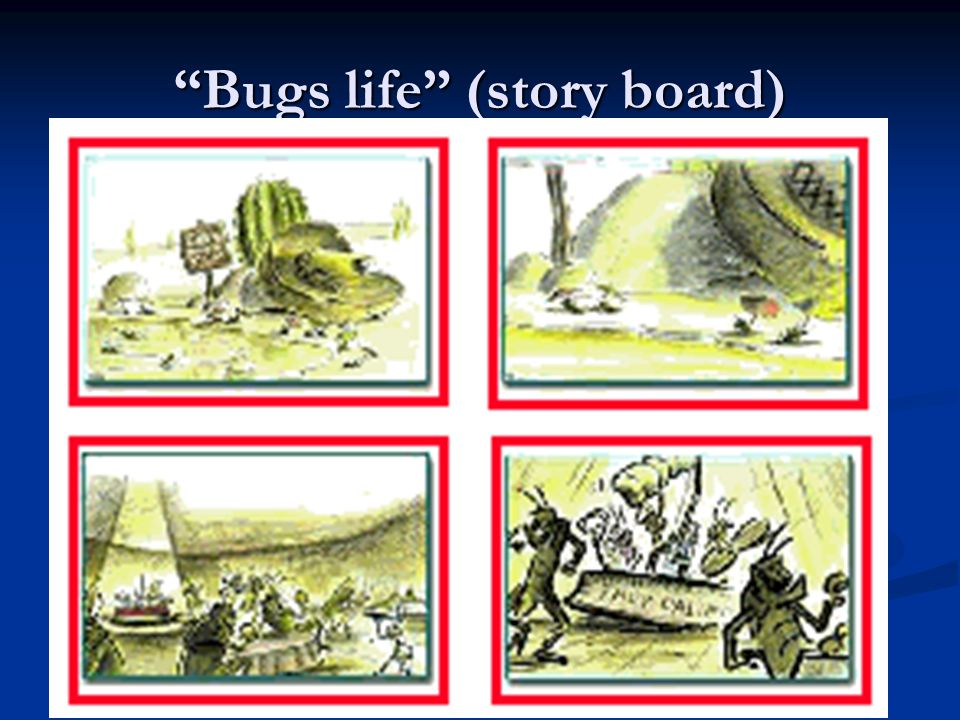 Bugs life (story board)