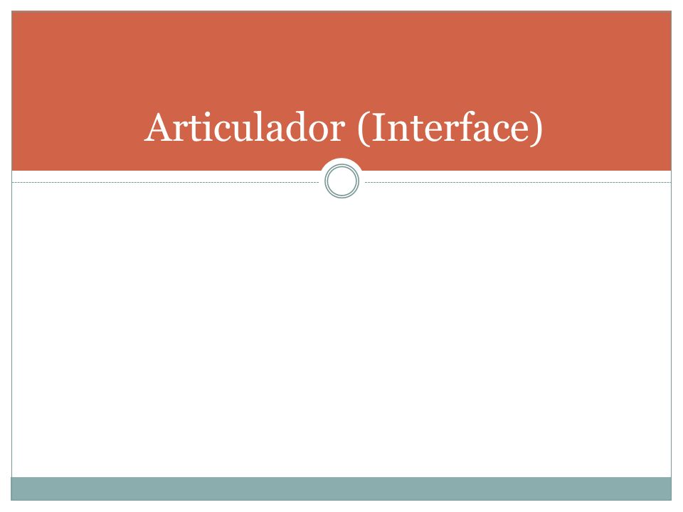 Articulador (Interface)