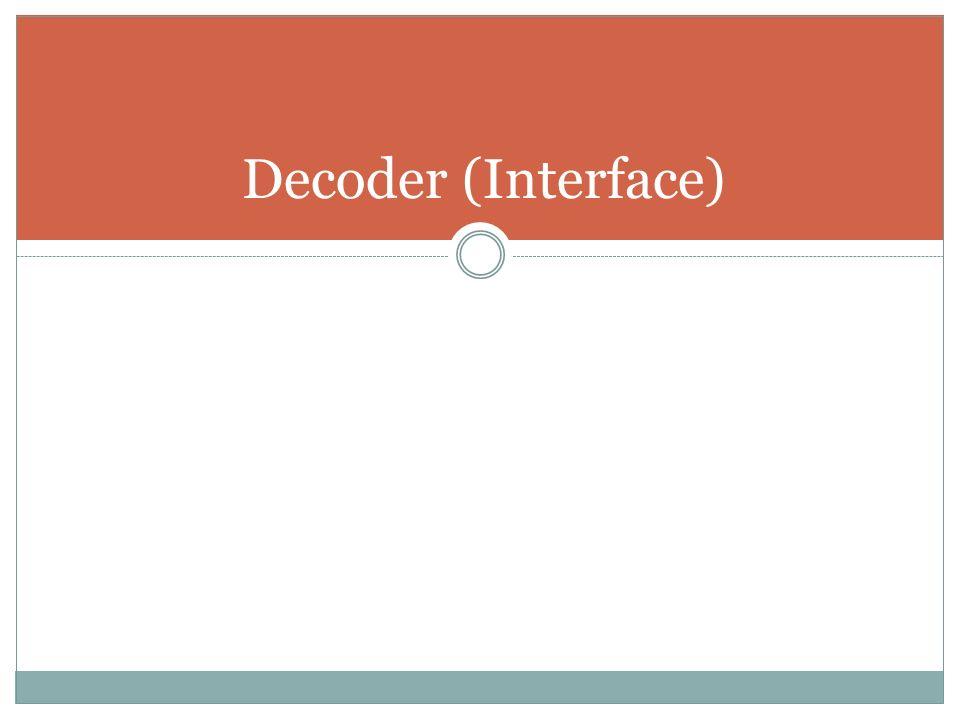 Encoder (Interface)