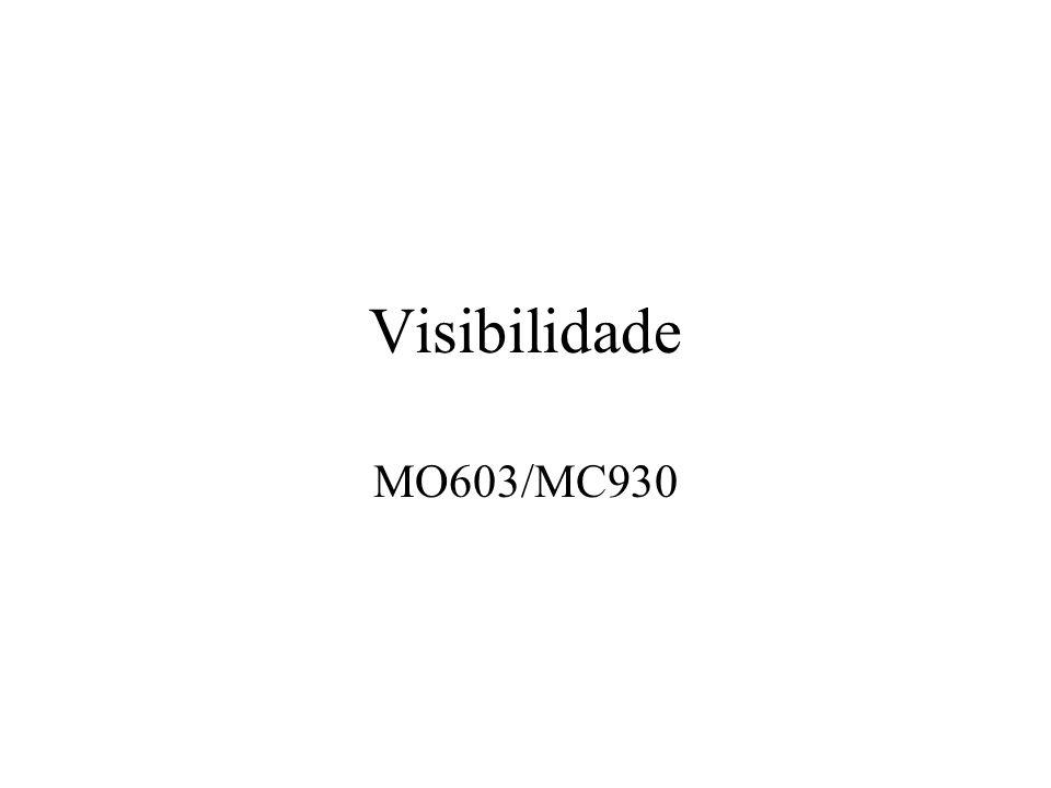 Visibilidade MO603/MC930
