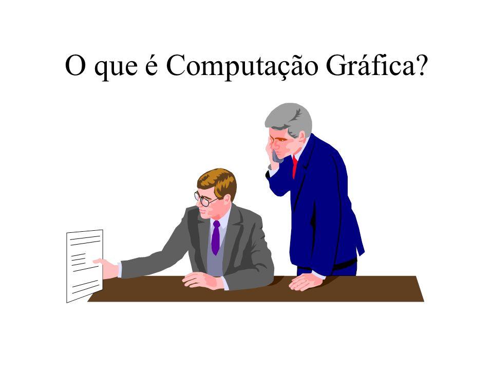 O que é Computação Gráfica?