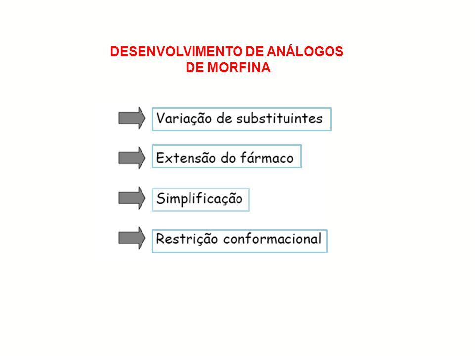 DESENVOLVIMENTO DE ANÁLOGOS DE MORFINA