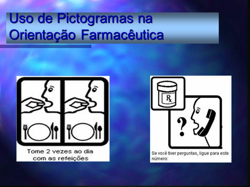 Uso de Pictogramas na Orientação Farmacêutica