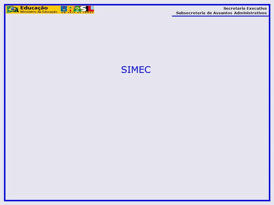 Secretaria Executiva Subsecretaria de Assuntos Administrativos SIMEC
