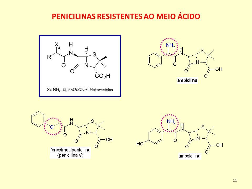 PENICILINAS RESISTENTES AO MEIO ÁCIDO 11
