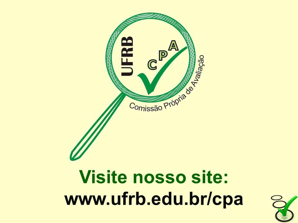 Visite nosso site: www.ufrb.edu.br/cpa