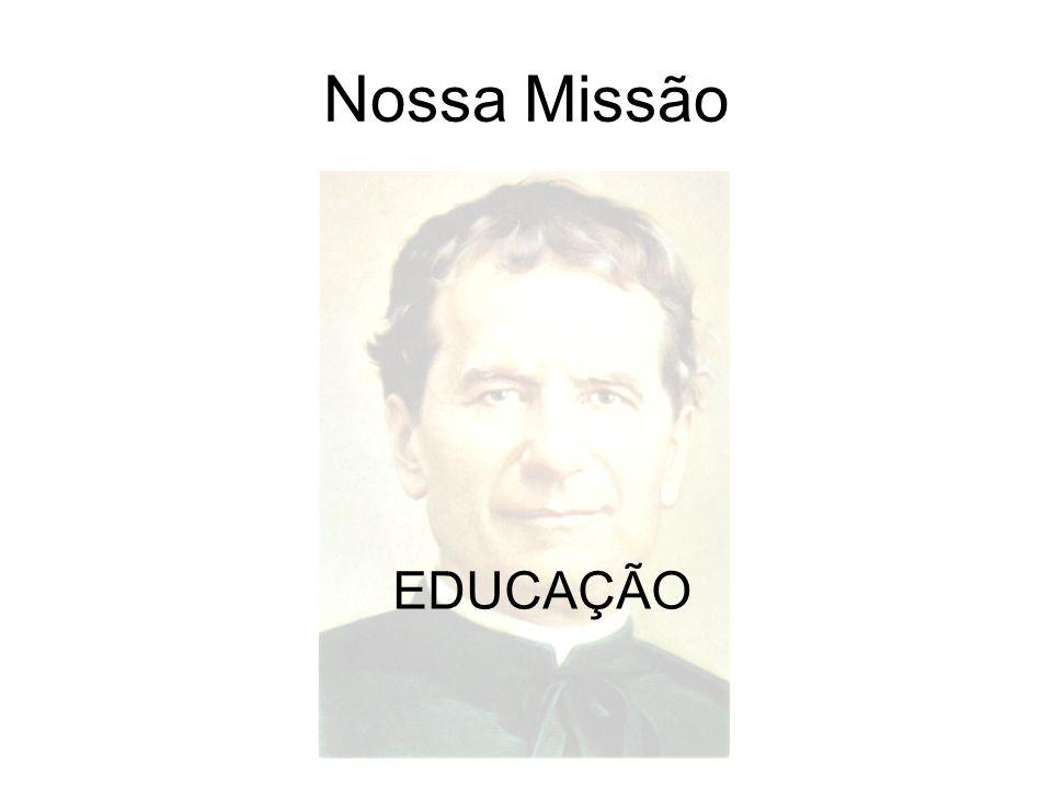 Nossa Missão EDUCAÇÃO
