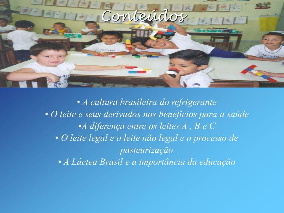 A cultura brasileira do refrigerante O leite e seus derivados nos benefícios para a saúde A diferença entre os leites A, B e C O leite legal e o leite