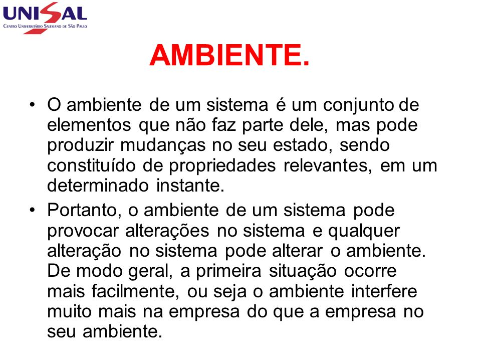 AMBIENTE.