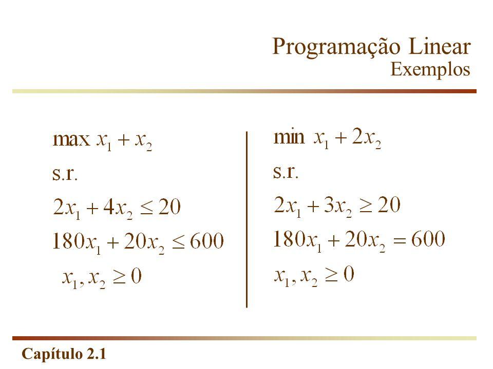 Capítulo 2.1 Max s.r. Exercício 3