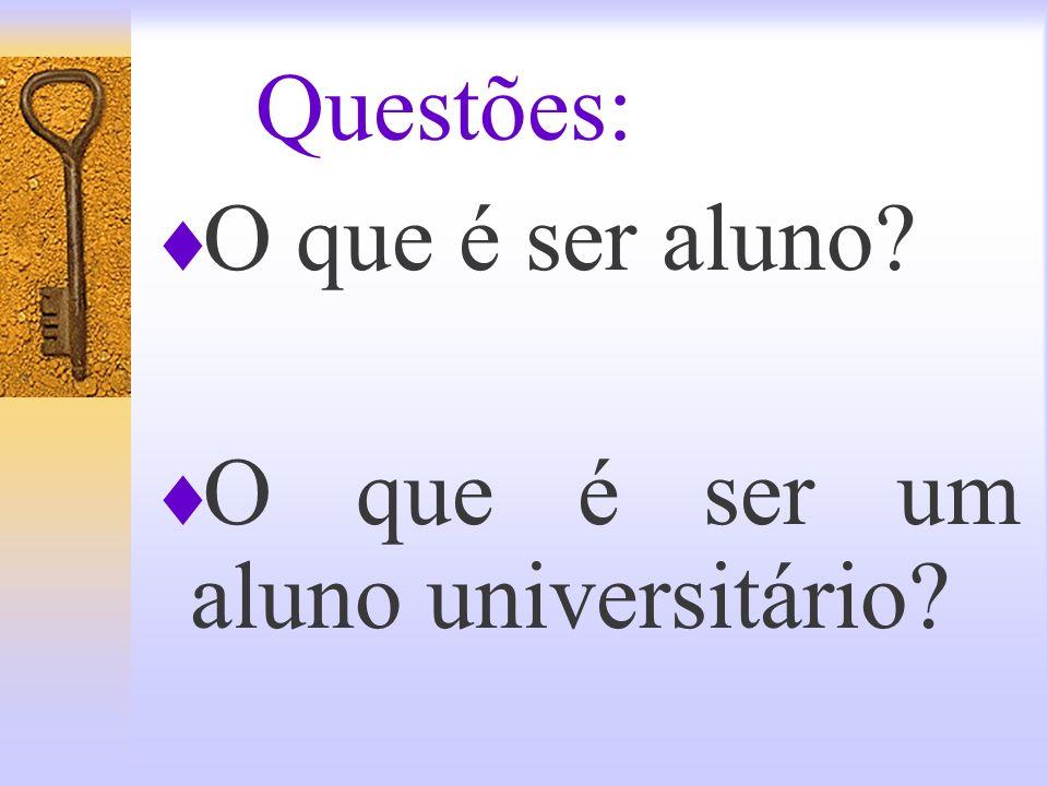 AS REGRAS DO JOGO: as responsabilidades do aluno no Contrato Didático Núcleo de Assessoria Pedagógica NAP UNISAL-LORENA- 2006