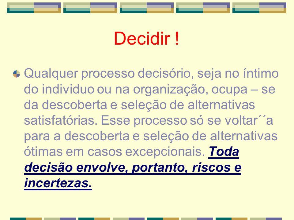 INTUIÇÃO NA TOMADA DE DECISÃO .conhecimento tácito e não implícito.