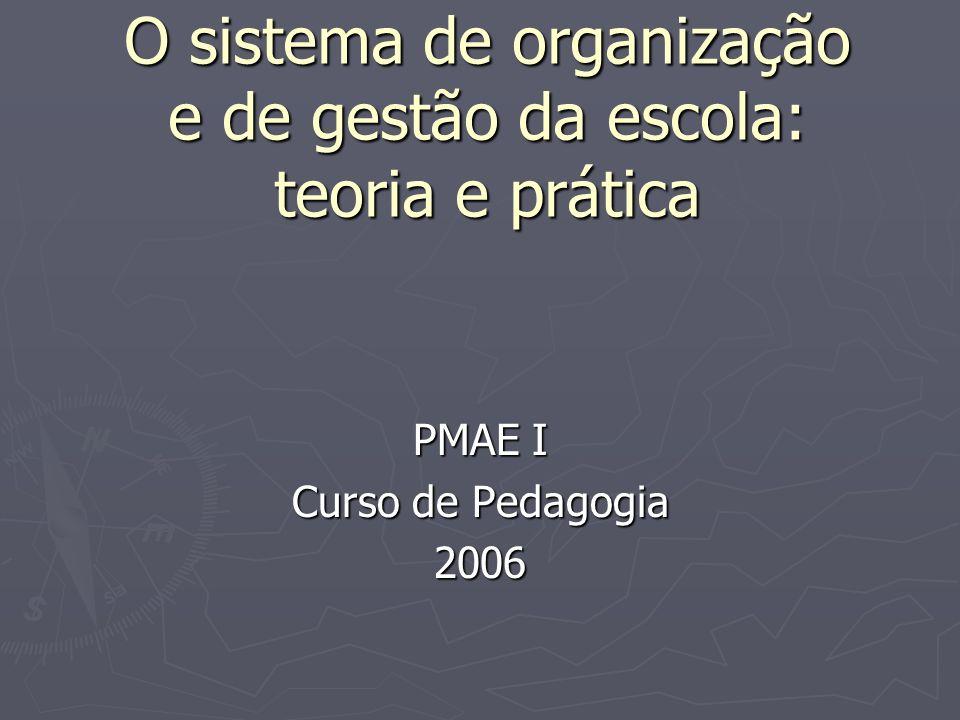CONCEPÇÕES DE ORGANIZAÇÃO E GESTÃO ESCOLAR TÉCNICO-CIENTÍFICA TÉCNICO-CIENTÍFICA AUTOGESTIONÁRIA AUTOGESTIONÁRIA INTERPRETATIVA INTERPRETATIVA DEMOCRÁTICO-PARTICIPATIVA DEMOCRÁTICO-PARTICIPATIVA