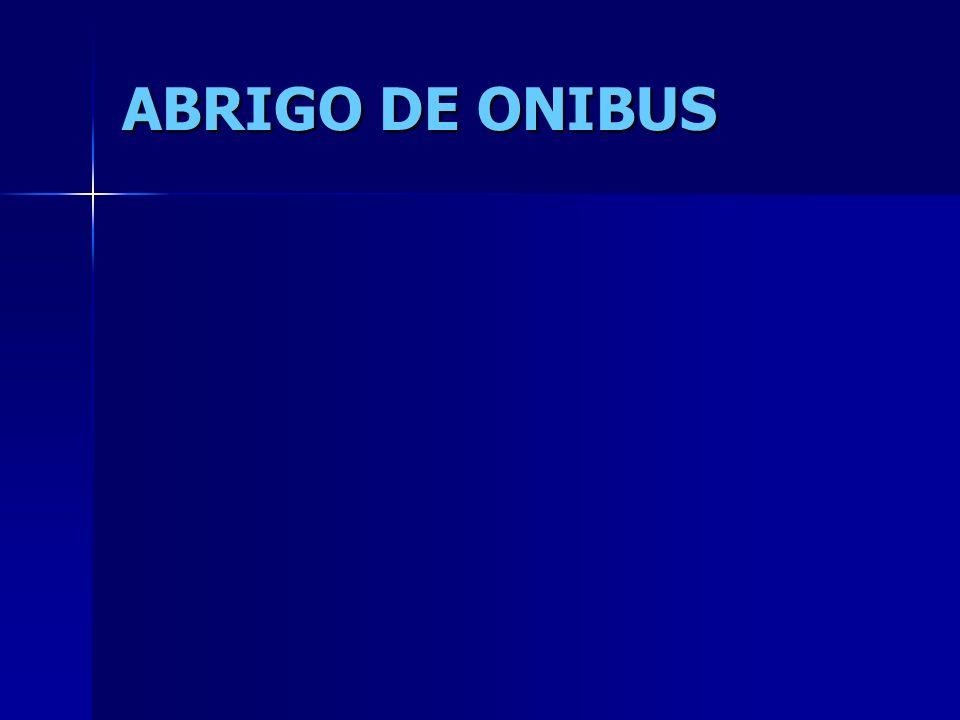 ABRIGO DE ONIBUS