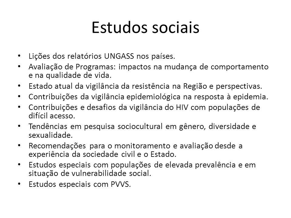 Resposta social Experiências exitosas no envolvimento das pessoas vivendo com HIV, populações de maior prevalência e populações em situação de vulnerabilidade social na gestão de projetos.