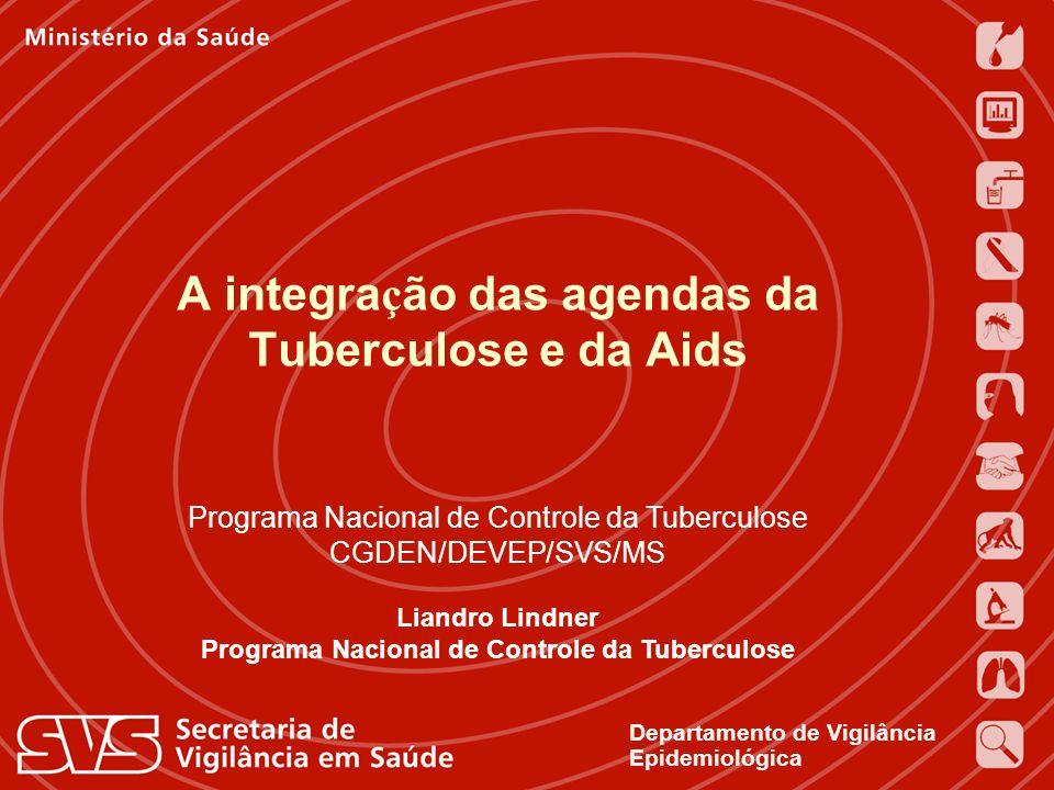 Expedito Luna 16 de novembro de 2004 Departamento de Vigilância Epidemiológica Programa Nacional de Controle da Tuberculose CGDEN/DEVEP/SVS/MS Liandro