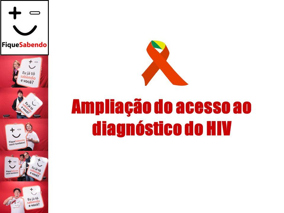 Ampliação do acesso ao diagnóstico do HIV