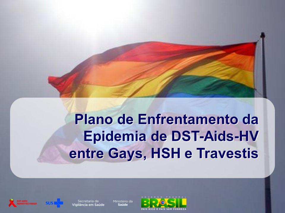 Plano de Enfrentamento da Epidemia de DST-Aids-HV entre Gays, HSH e Travestis