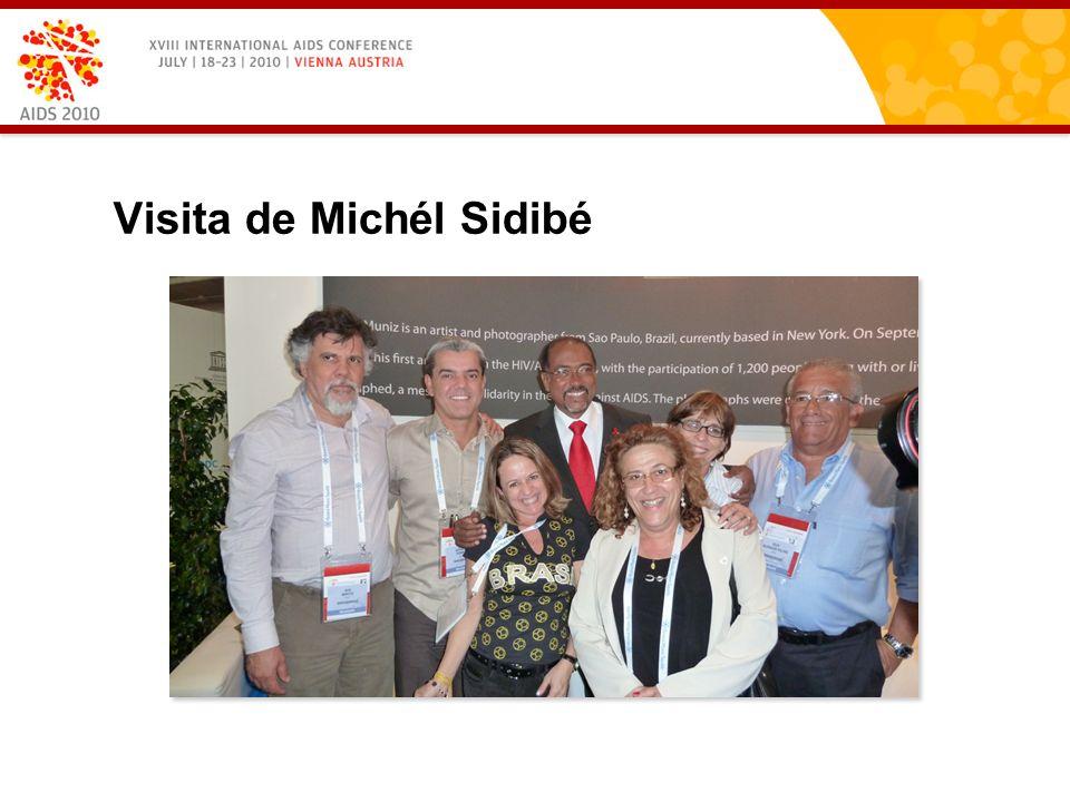 Visita de Michél Sidibé