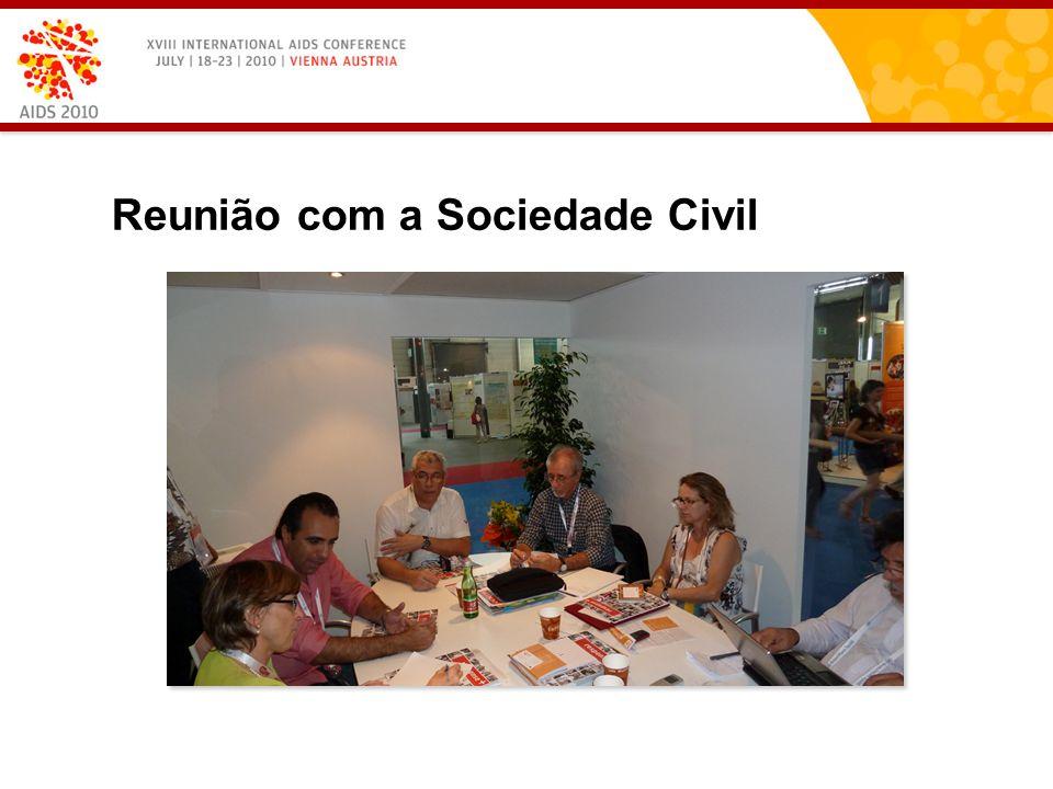 Reunião com a Sociedade Civil